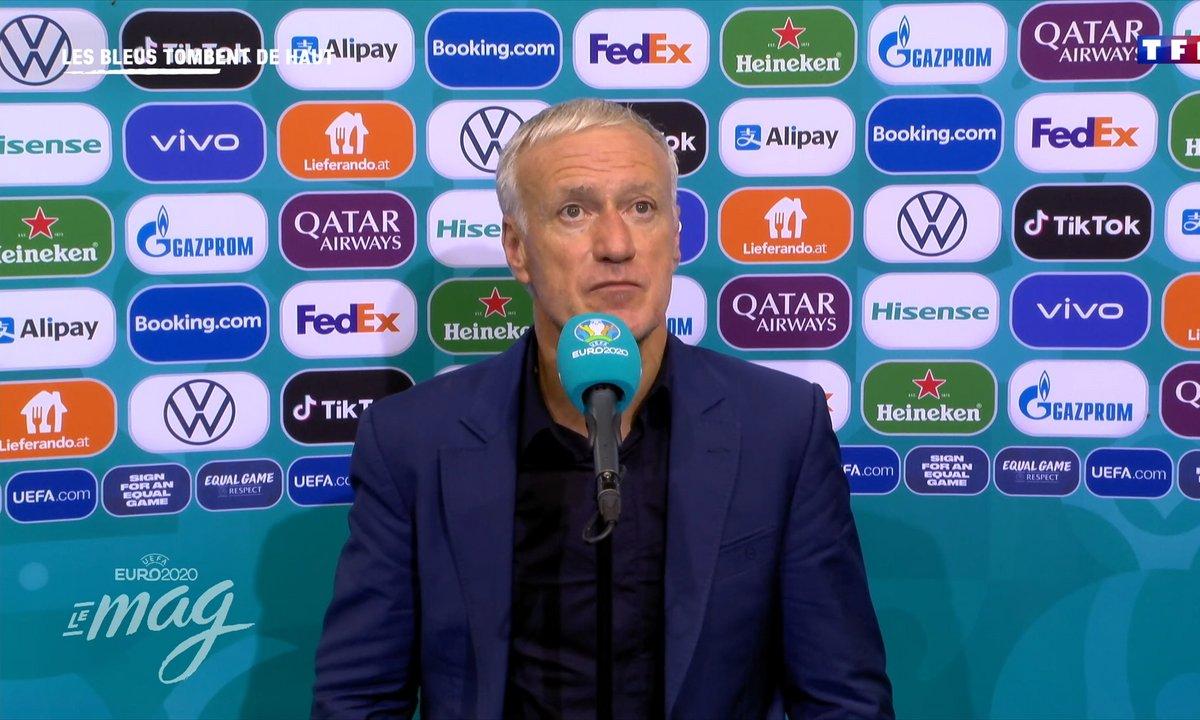 """Didier Deschamps : """"On a été au bout de nos forces"""""""