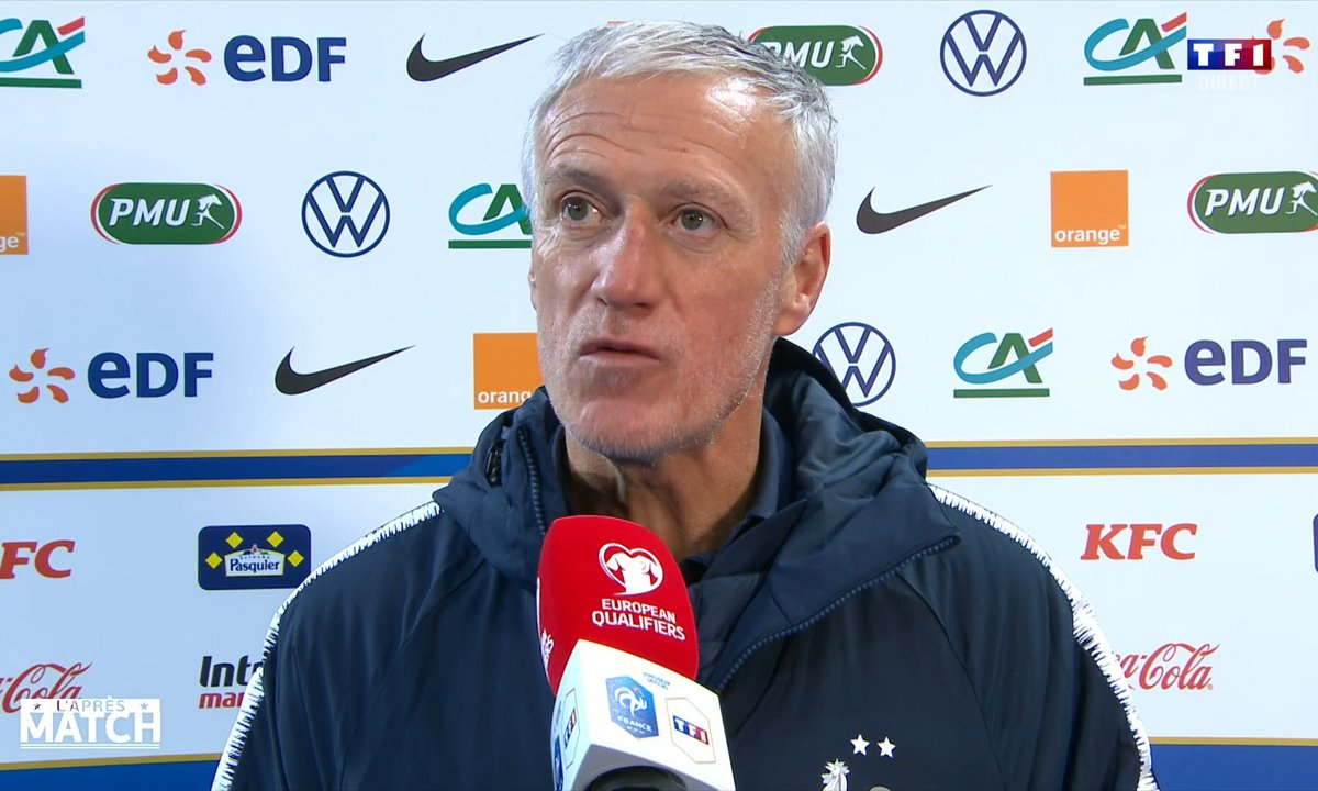 "France - Ukraine : Deschamps : ""On aurait dû se mettre à l'abri"""