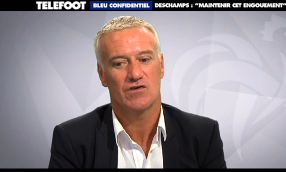 "Bleu Confidentiel - Deschamps : ""Maintenir l'engouement"""