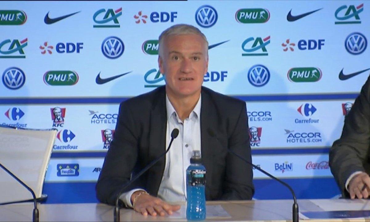 Equipe de France : la liste pour le Brésil et le Danemark