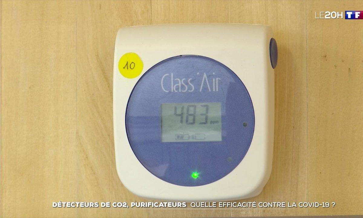 Détecteurs de CO², purificateurs d'air : quelle efficacité contre le Covid ?