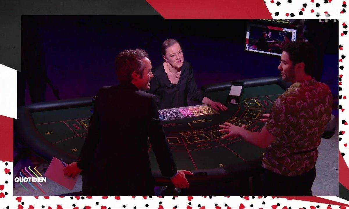 Comment devient-on un bon joueur ? Avec Tahar Rahim et la croupière Sandrine Guilbaut