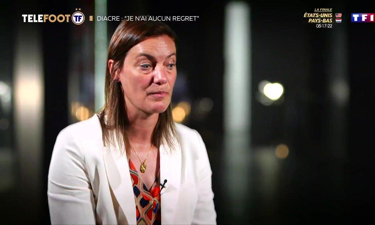 "Corinne Diacre : ""Je n'ai aucun regret"""