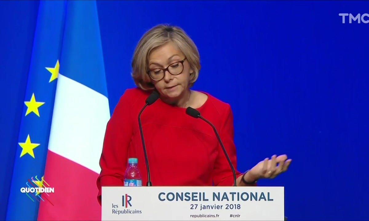 Discours de Laurent Wauquiez : Valérie Pécresse chahutée par les militants LR