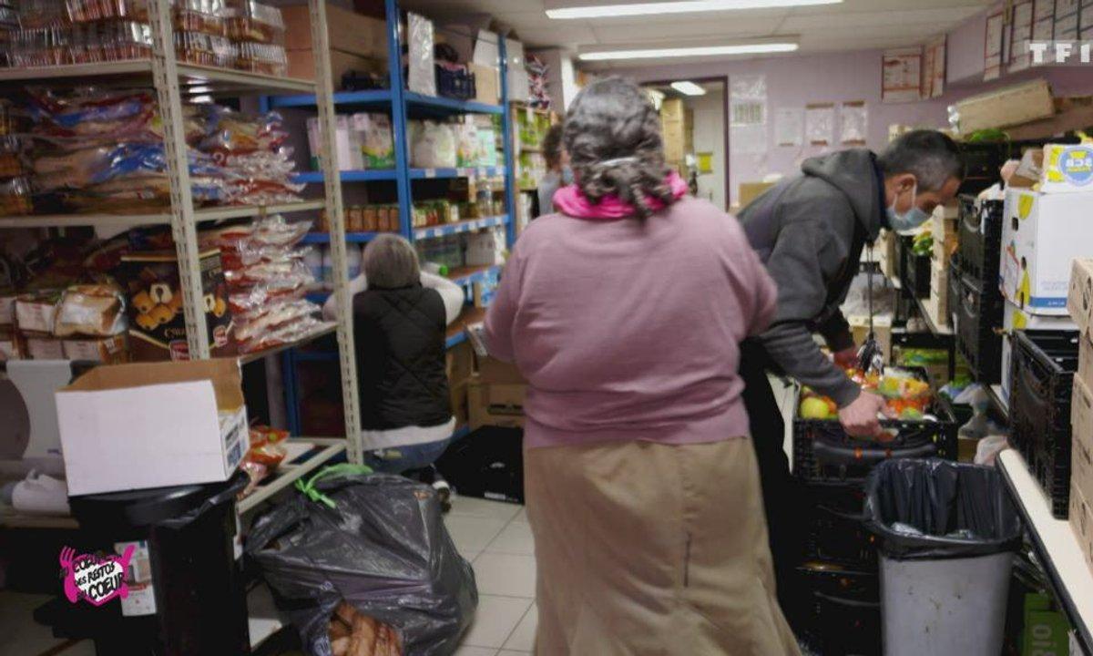 Distrib. Alimentaire au pré St Gervais - Au coeur des Restos du Coeur du 15 décembre 2020