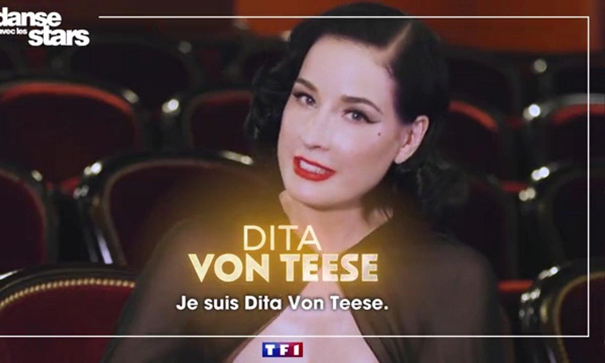 """Danse avec les stars - Dita Von Teese  : """"Je suis plutôt Freestyle..."""""""
