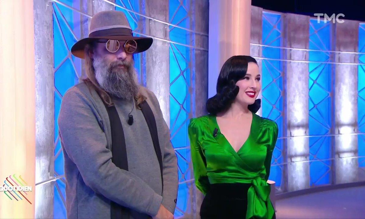Invités – Dita Von Teese et Sébastien Tellier, un duo très sexy dans Quotidien