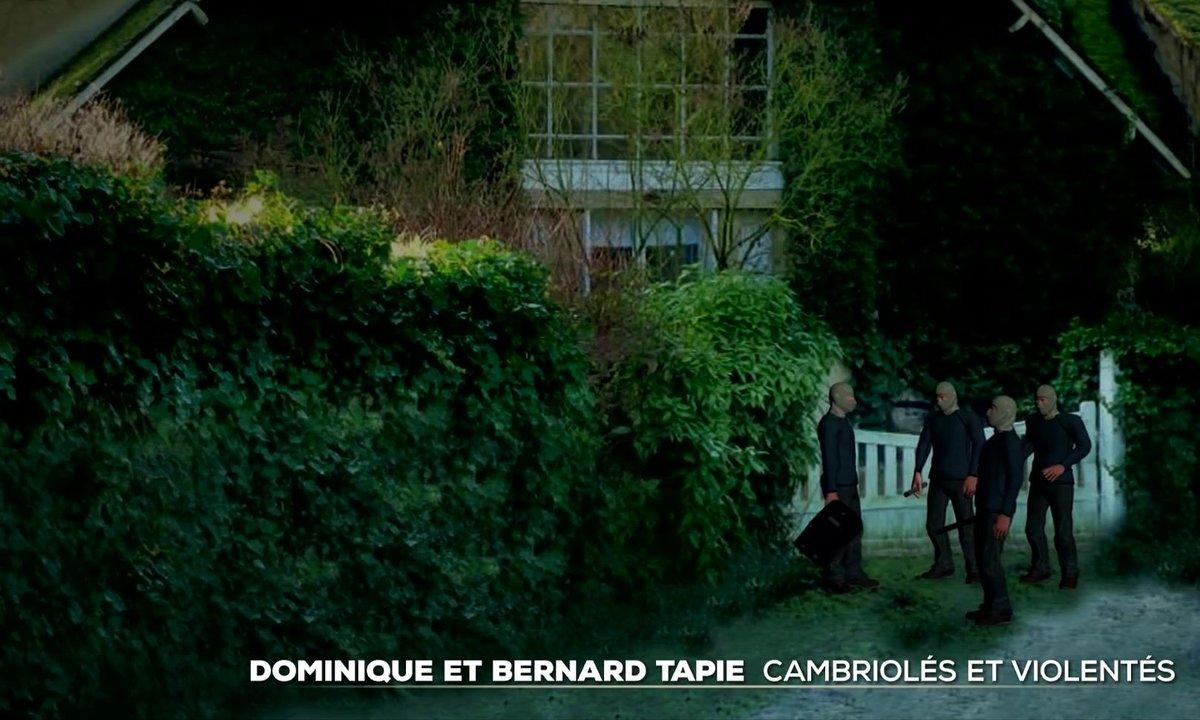 Dominique et Bernard Tapie : cambriolés et violentés