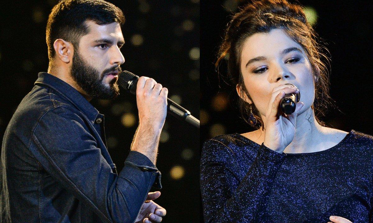 """THE VOICE 2020 - Don Pierre VS Louise Combier chantent """"Dis-lui toi que je t'aime"""" de Vanessa Paradis (BATTLES)"""