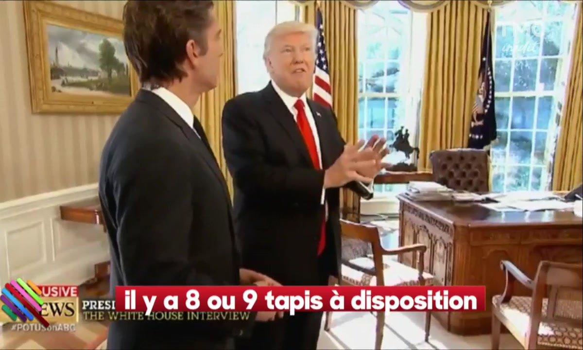 Donald Trump fait le tour du propriétaire