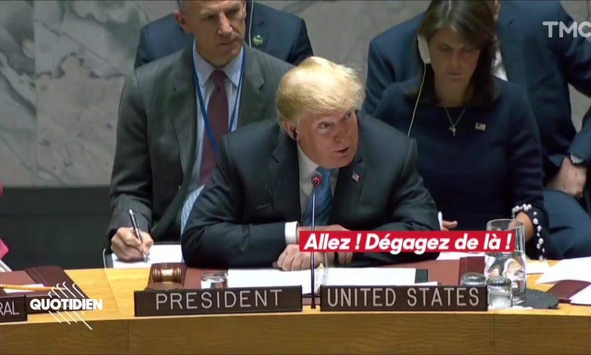 Donald Trump gère une réunion sur la paix : WTF ?