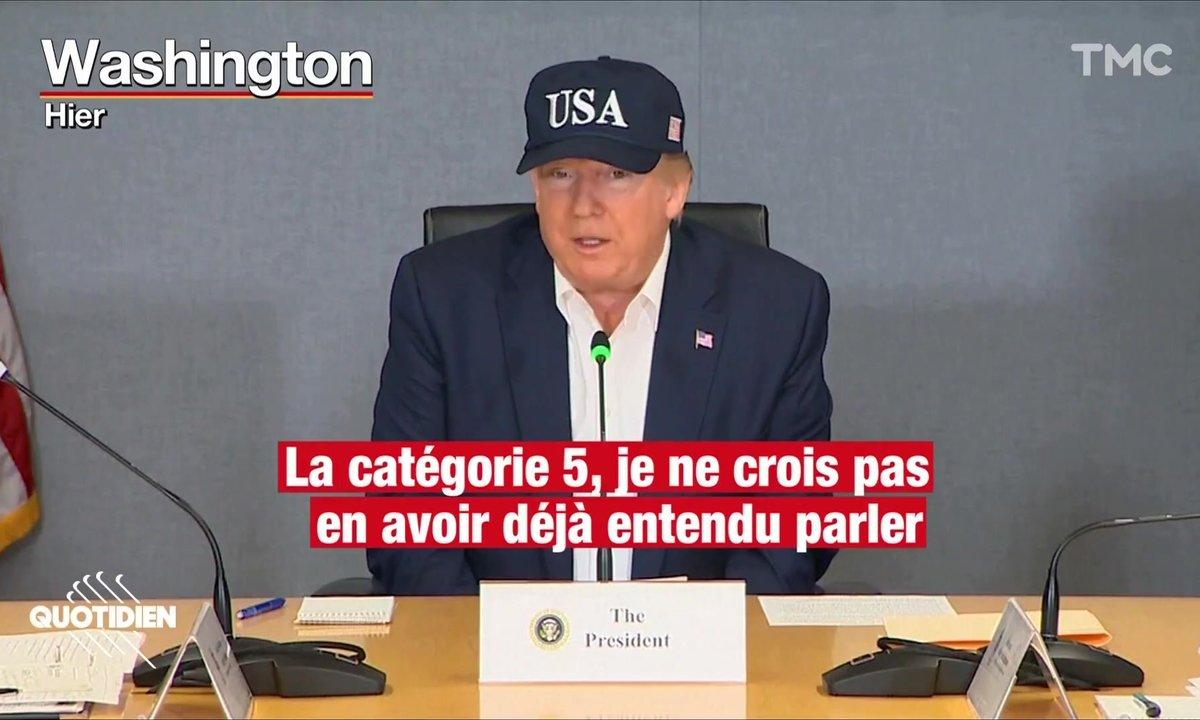 Donald Trump : quels ouragans de catégorie 5 ?