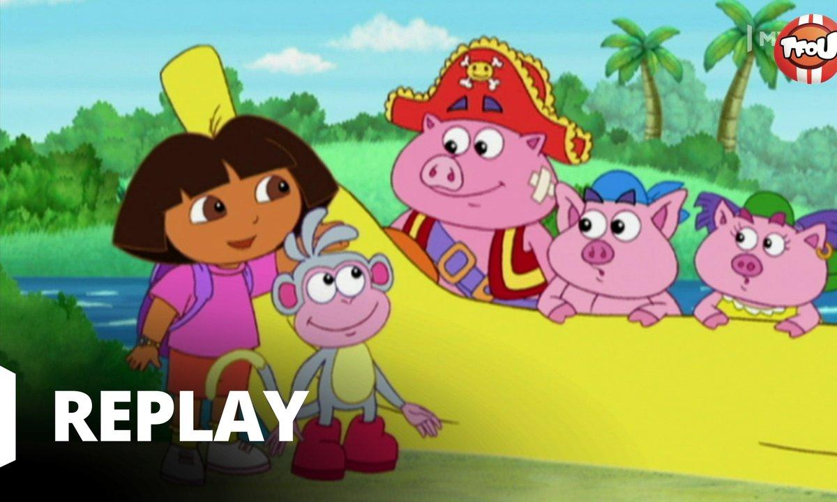 Dora l'exploratrice - S05 - Un voeu bananesque