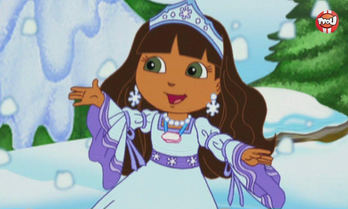 Dora l'exploratrice - Dora et la princesse des neiges - Extrait