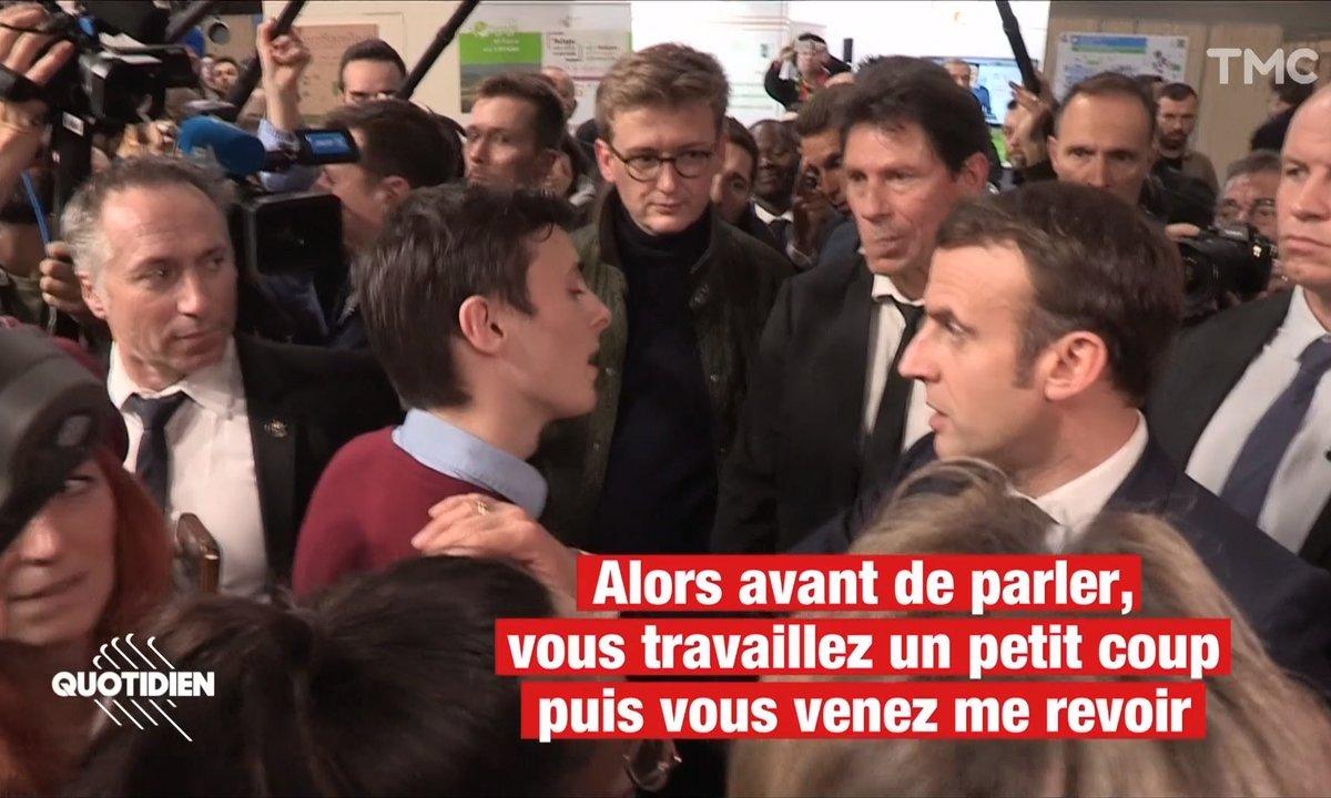Du Cameroun aux gilets jaunes : Macron questionné sur tous les fronts au Salon de l'Agriculture