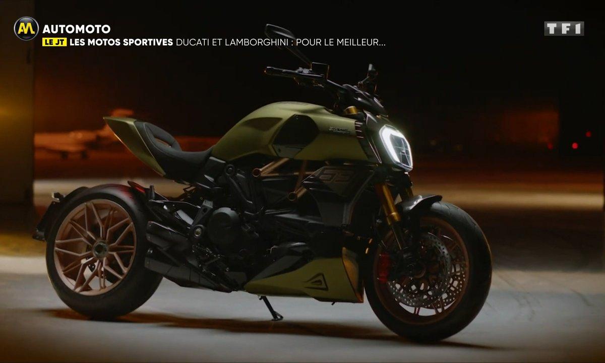 VIDEO - Ducati et Lamborghini s'allient pour le meilleur