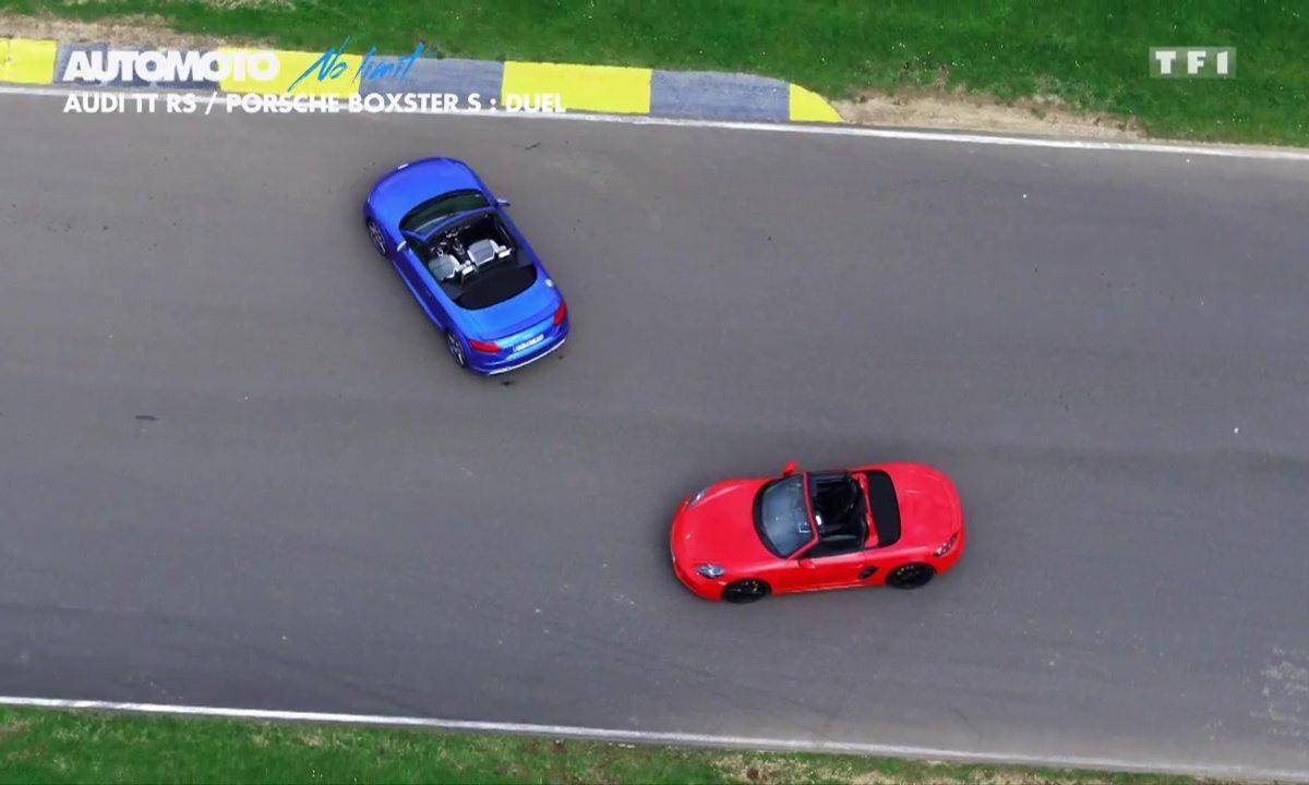 No Limit : Audi TT RS/Porsche Boxter S : Duel