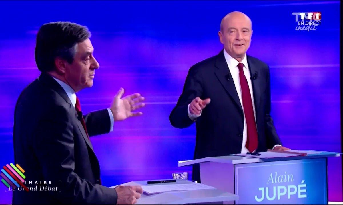 Le match Fillon / Juppé : parle à ma main