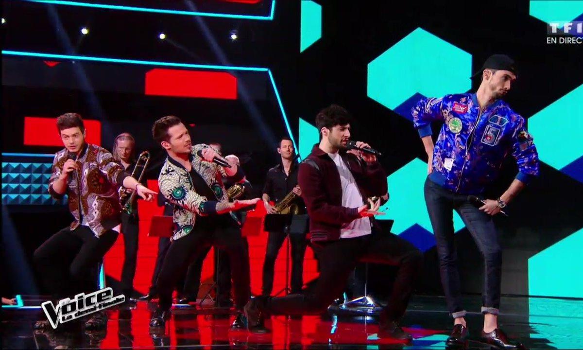En duo, Arcadian et MB14 chantent en direct « Tous les mêmes » pour la demi-finale (Saison 05)
