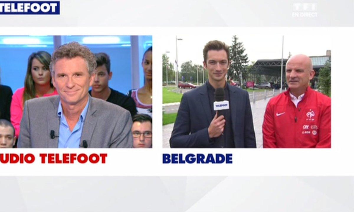 Serbie : Duplex avec l'Equipe de France
