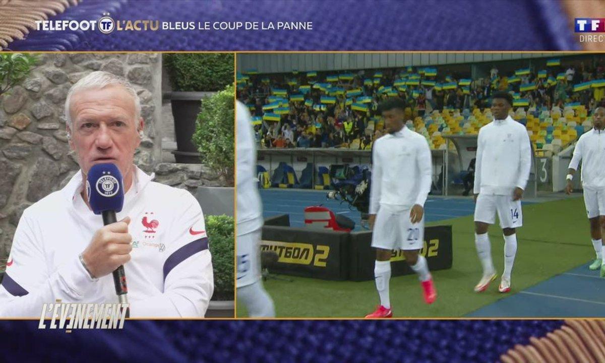 """Didier Deschamps en duplex : """"Un parcours de qualification est toujours compliqué"""""""