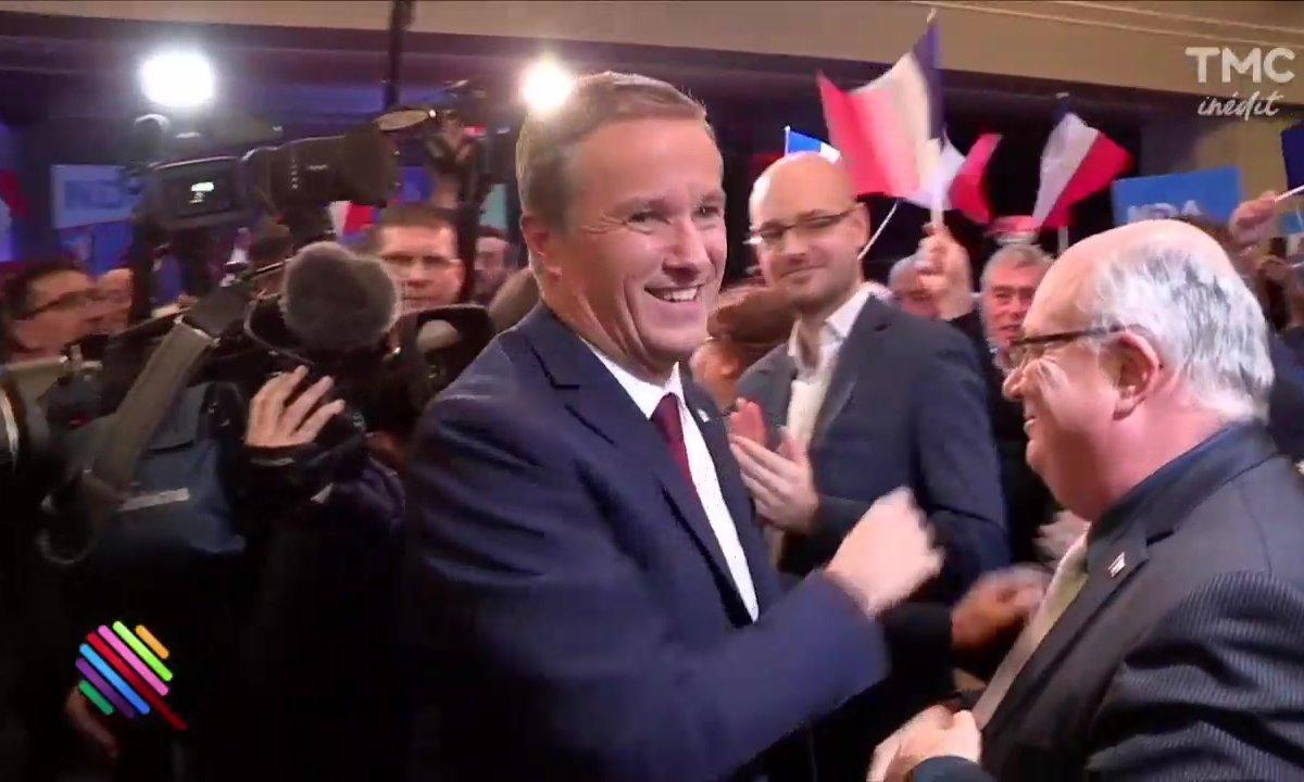 """Dupont-Aignan """"On se reverra à l'Elysée !"""""""