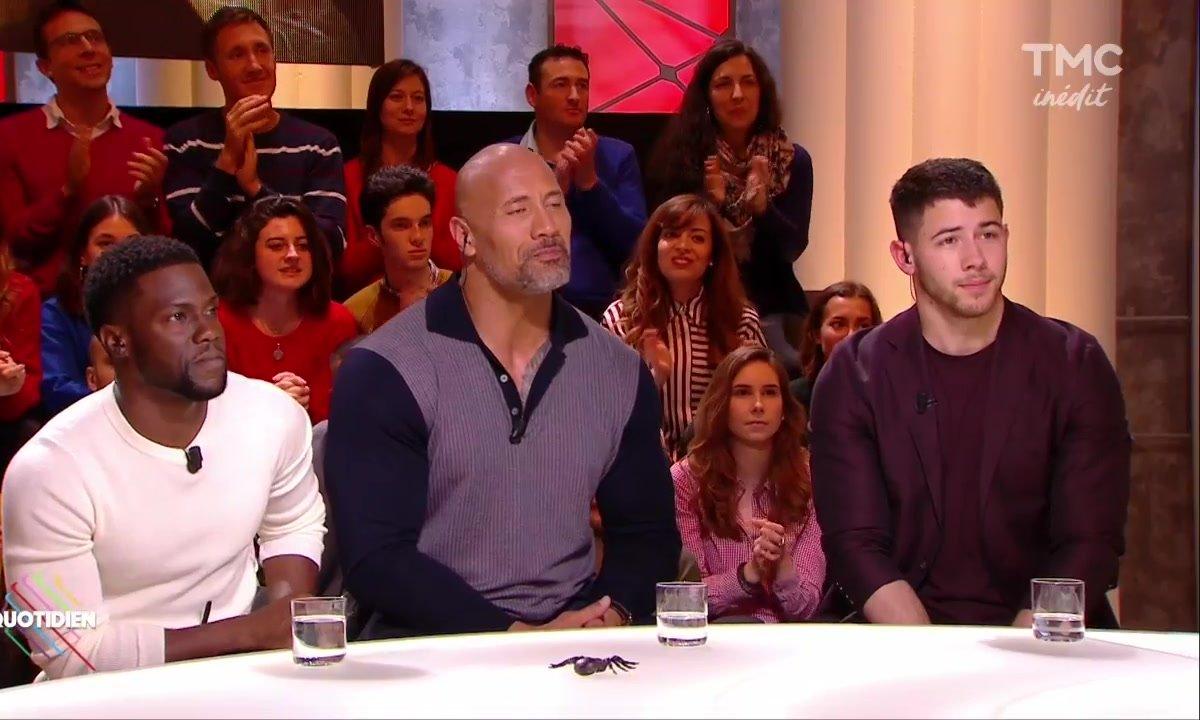 Invités : Dwayne Johnson, Kevin Hart et Nick Jonas rejouent à Jumanji