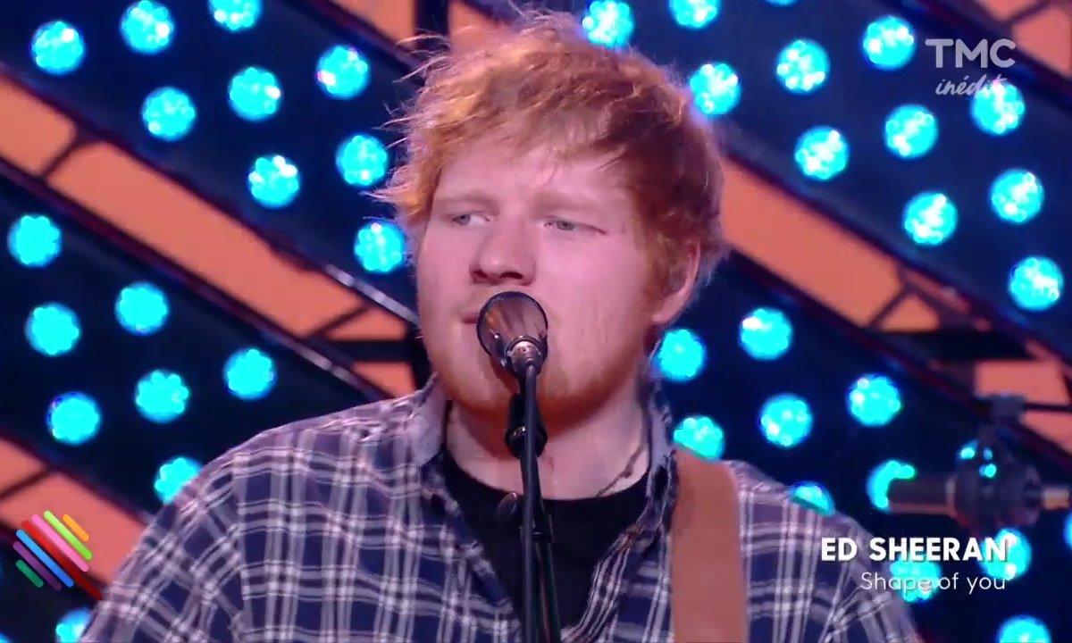 "Ed Sheeran : ""Shape of you"" sur Quotidien"