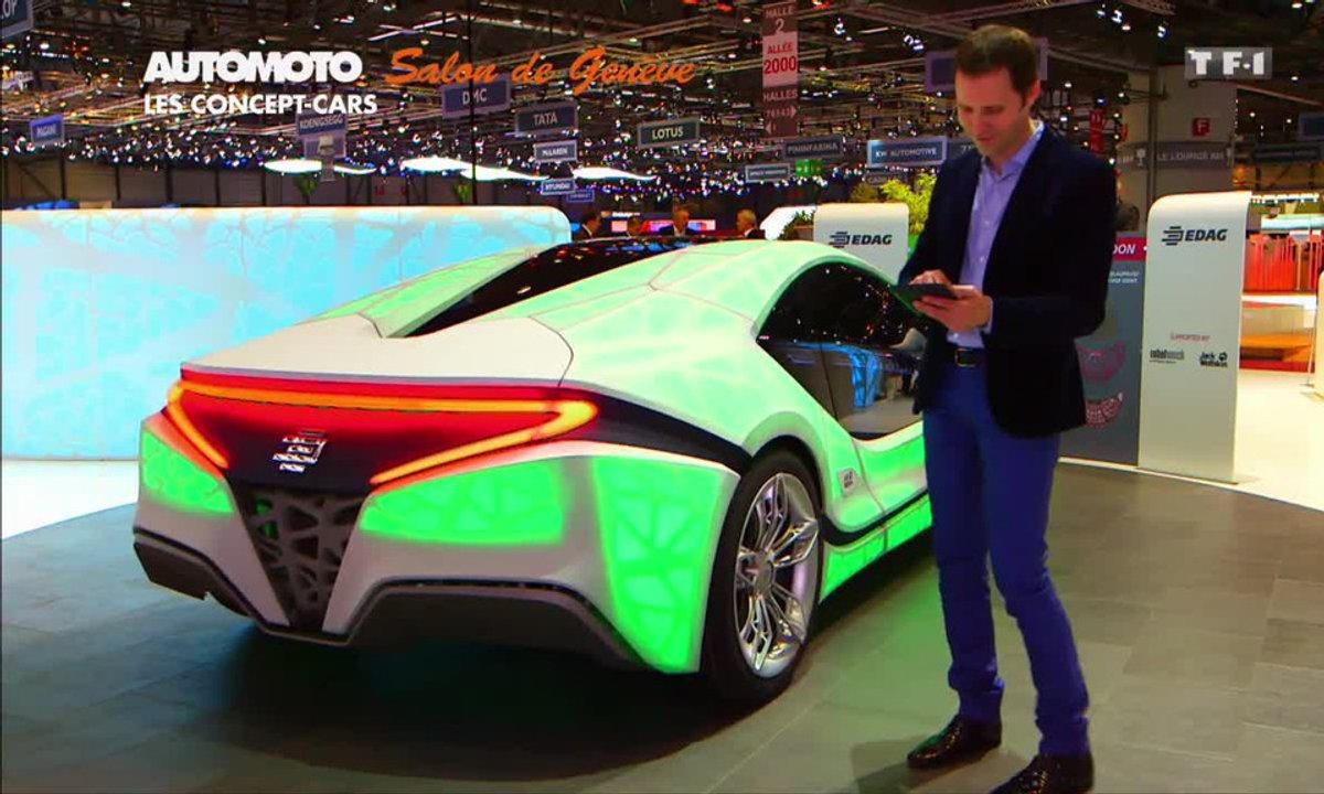 EDAG Light Cocoon Concept, la voiture qui change de couleur !
