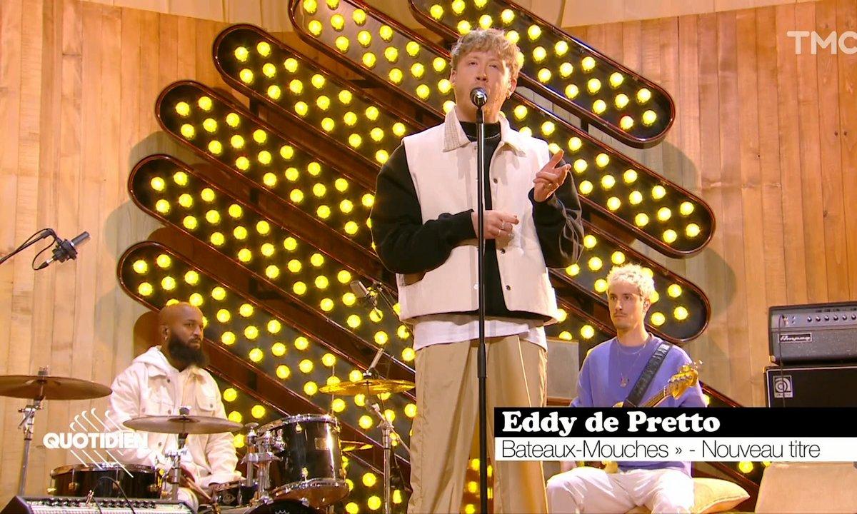 """Eddy de Pretto: """"Bateaux-Mouches"""" en live pour Quotidien"""