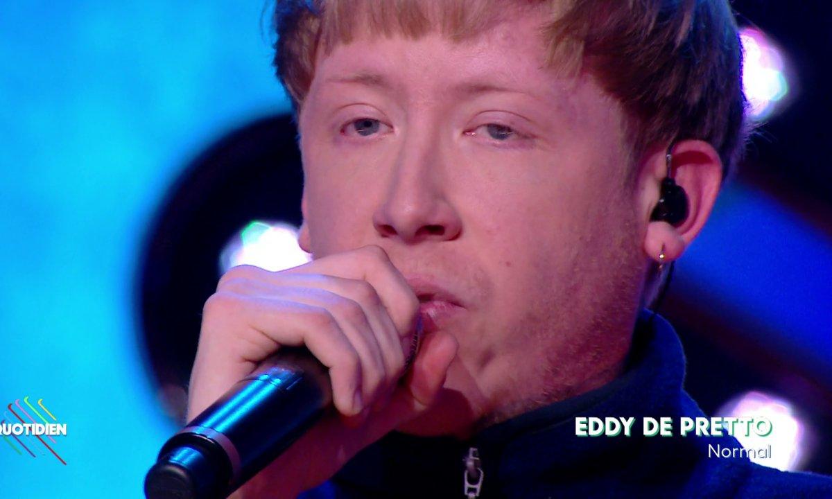 """Eddy de Pretto : """"Normal"""" en live dans Quotidien (exclu web)"""