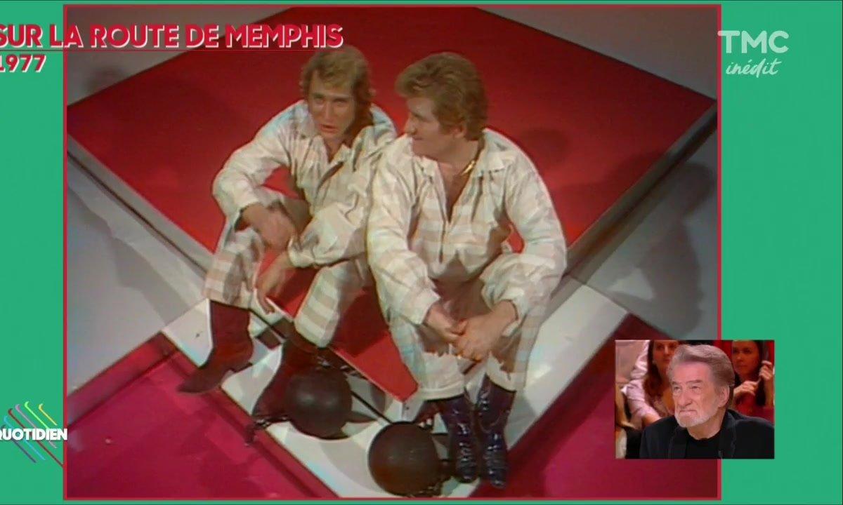 """Eddy Mitchell : """" Johnny Hallyday est Robocop"""""""