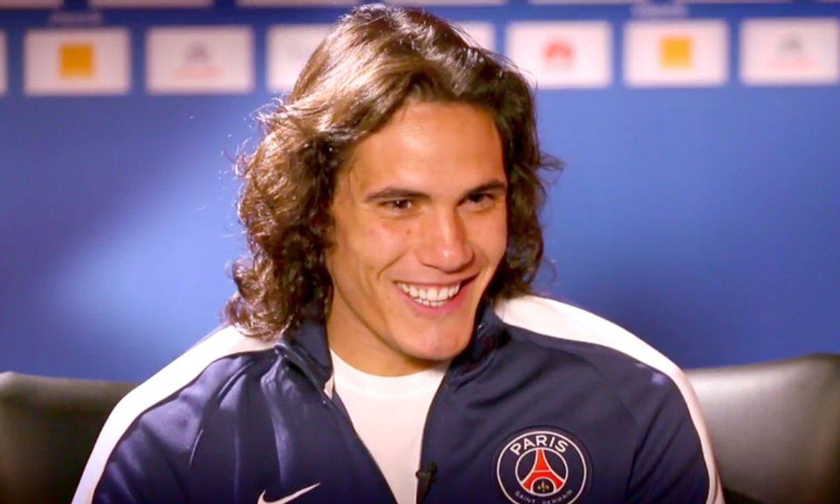 Cavani (PSG) : « Je suis venu à Paris pour jouer numéro 9 »