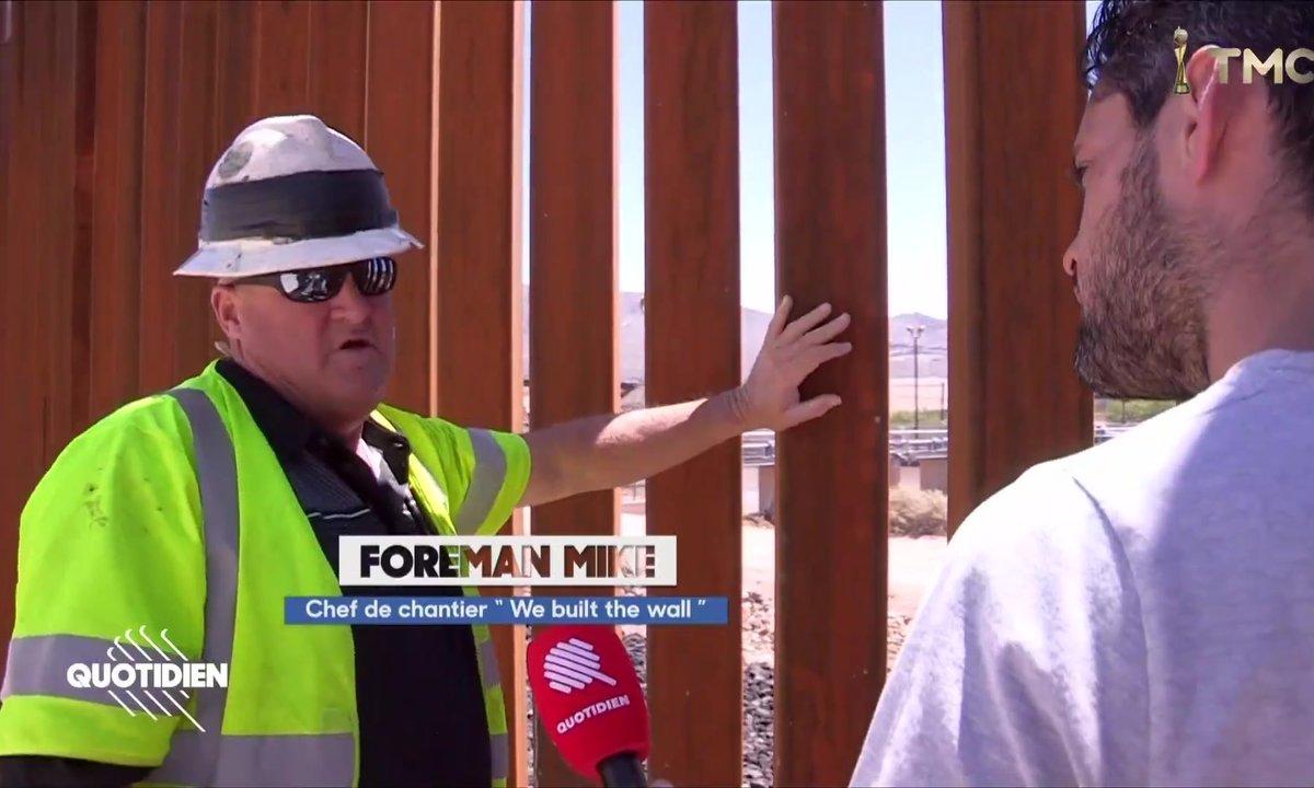El Paso : les pro-Trump construisent eux-mêmes leur mur contre le Mexique