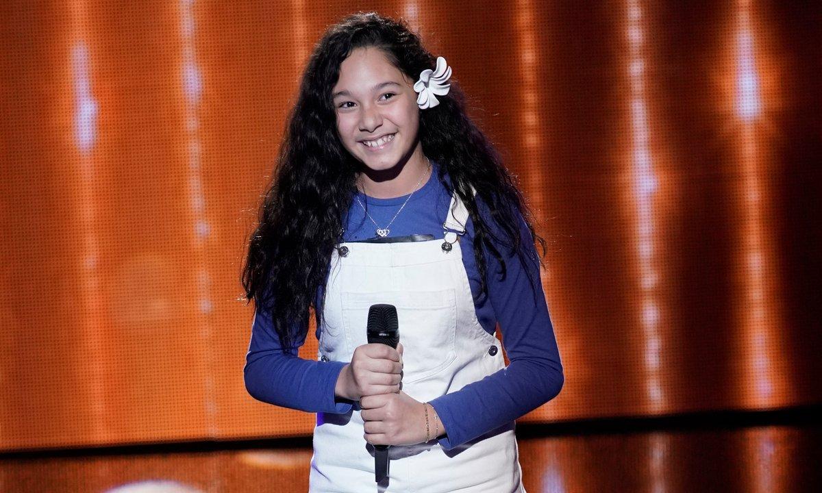 "The Voice Kids 2020 - Elaia chante ""Love on the Brain"" de Rihanna"