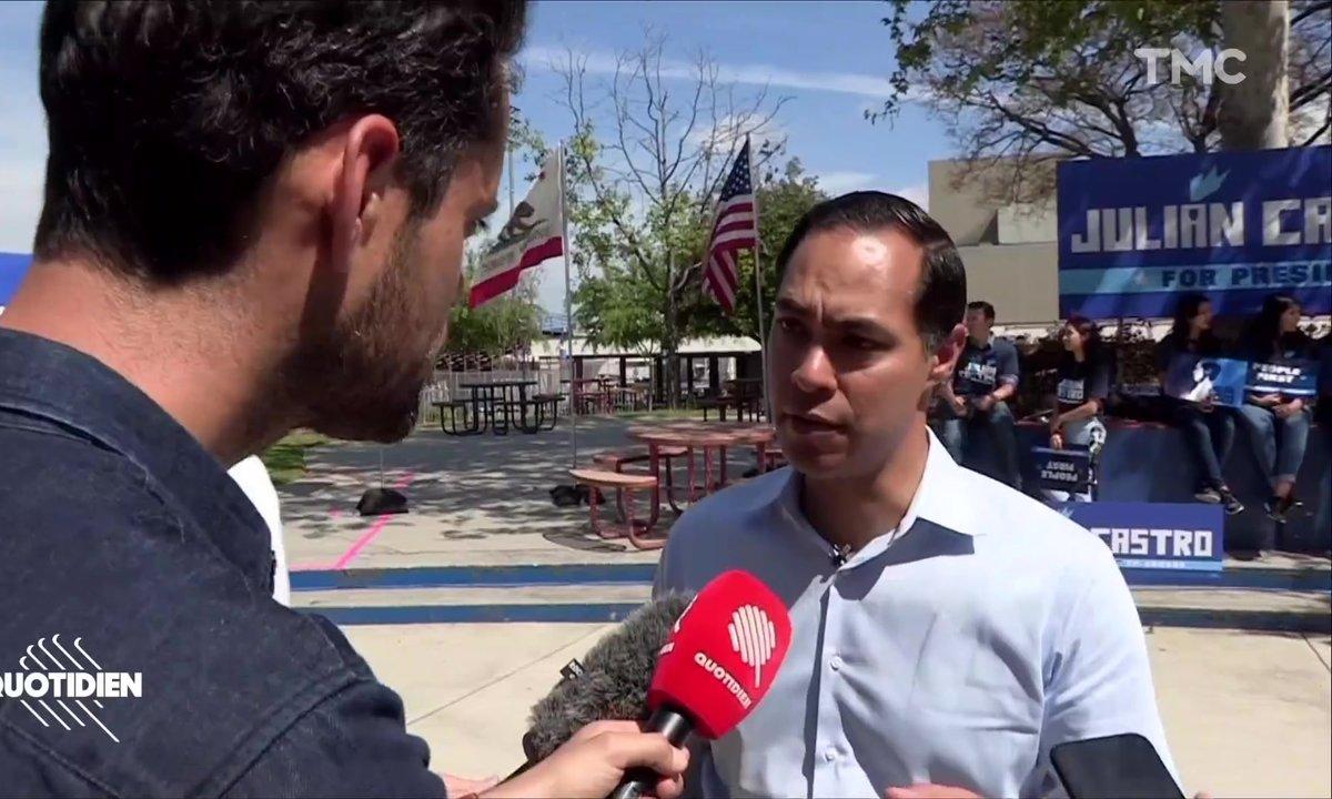 Élection américaine 2020 : rencontre avec Julian Castro, candidat démocrate