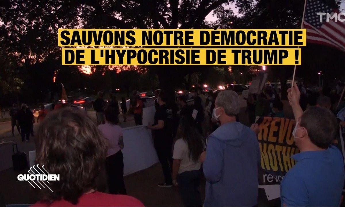 Election américaine : à travers tous le pays, pro-Trump et pro-Biden protestent
