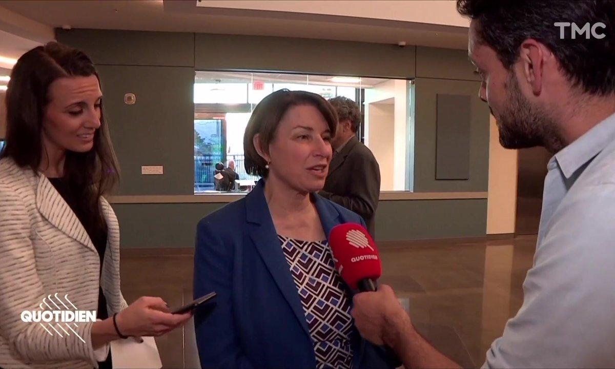 Élection américaine : rencontre avec Amy Klobuchar, candidate démocrate