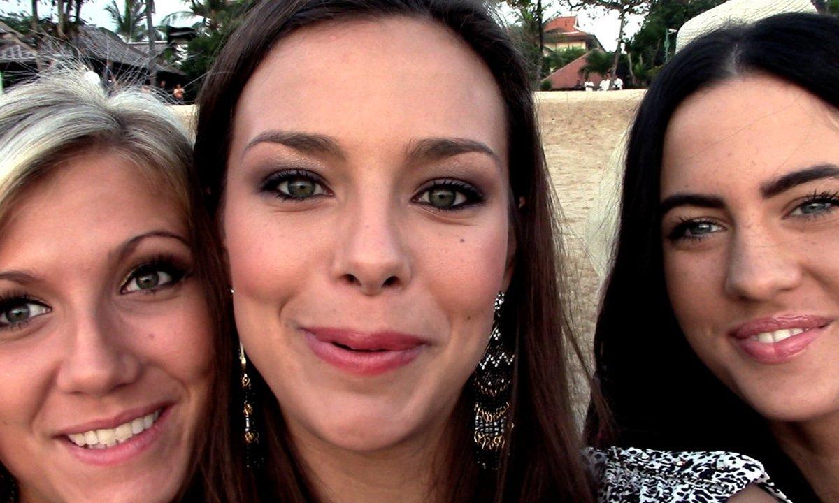 Bali : Miss France et les autres Miss, au secours des bébés tortues !
