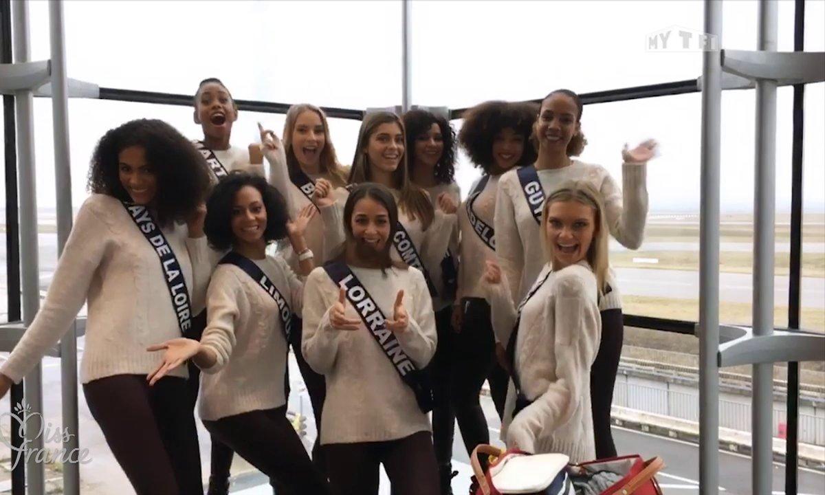 Les Miss à l'Ile Maurice, l'aventure Miss France 2019 commence !