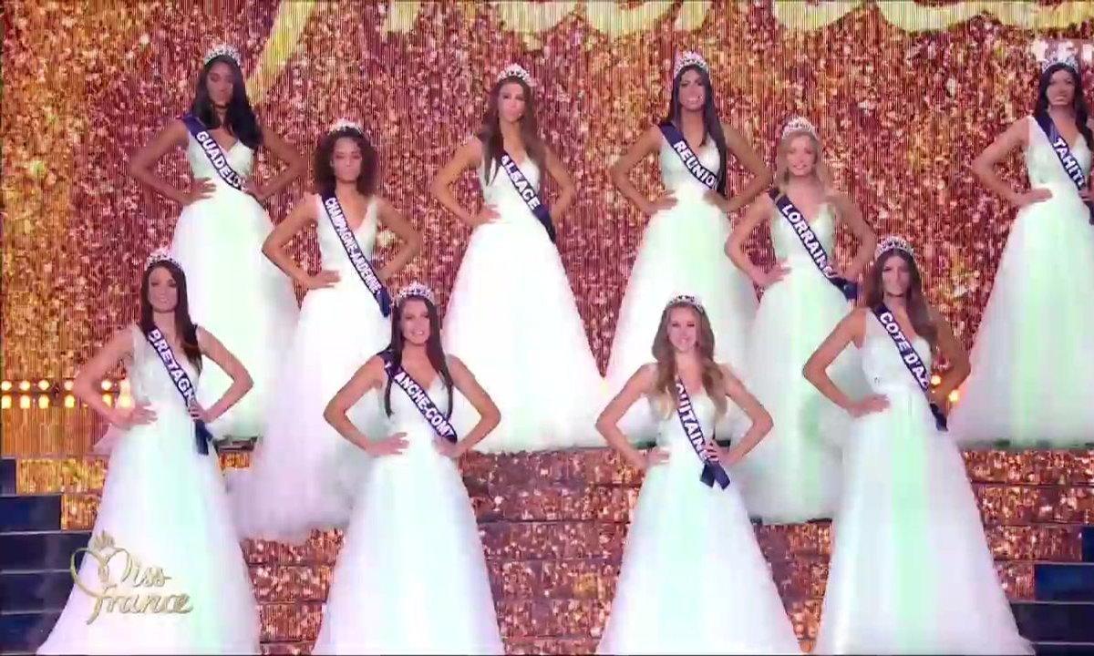 Miss France 2018 – Les 12 Miss demi-finalistes passent le grand oral