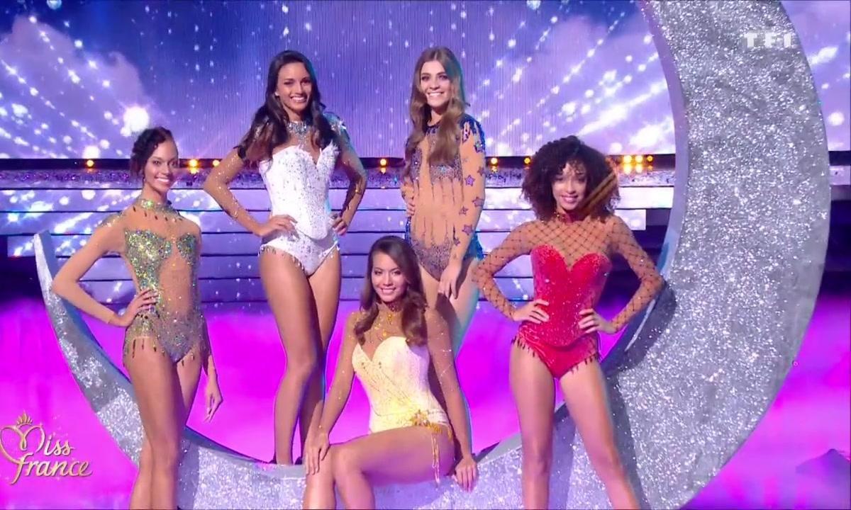 Miss France 2019 – Les 5 Miss finalistes brillent de mille feux