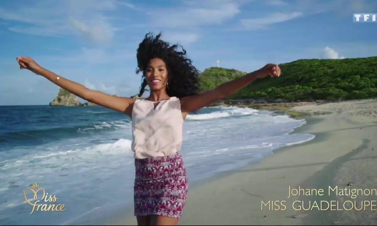 Miss France 2018 - Portraits de Miss : Franche-Comté, Guadeloupe, Lorraine, Côte-d'Azur et Réunion