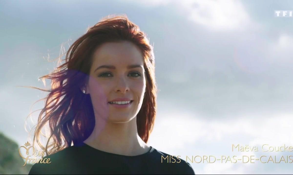 Miss France 2018 - Portraits de Miss : Nord-Pas-de-Calais, Mayotte, Poitou-Charentes, Rhône-Alpes et Picardie