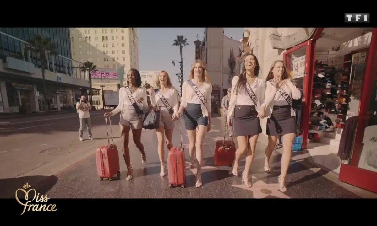 Miss France 2018 – Retour en images sur l'incroyable voyage des Miss en Californie