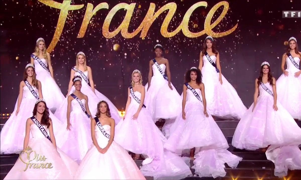 Miss France 2019 – Les 12 Miss demi-finalistes passent le grand oral