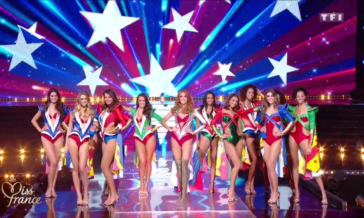 Miss France 2019 – Les 12 Miss en super héroïnes avec Maëva Coucke