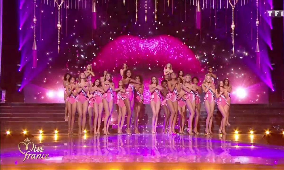 Miss France 2019 –  30 Miss en MAILLOT DE BAIN sur le thème Pin-up