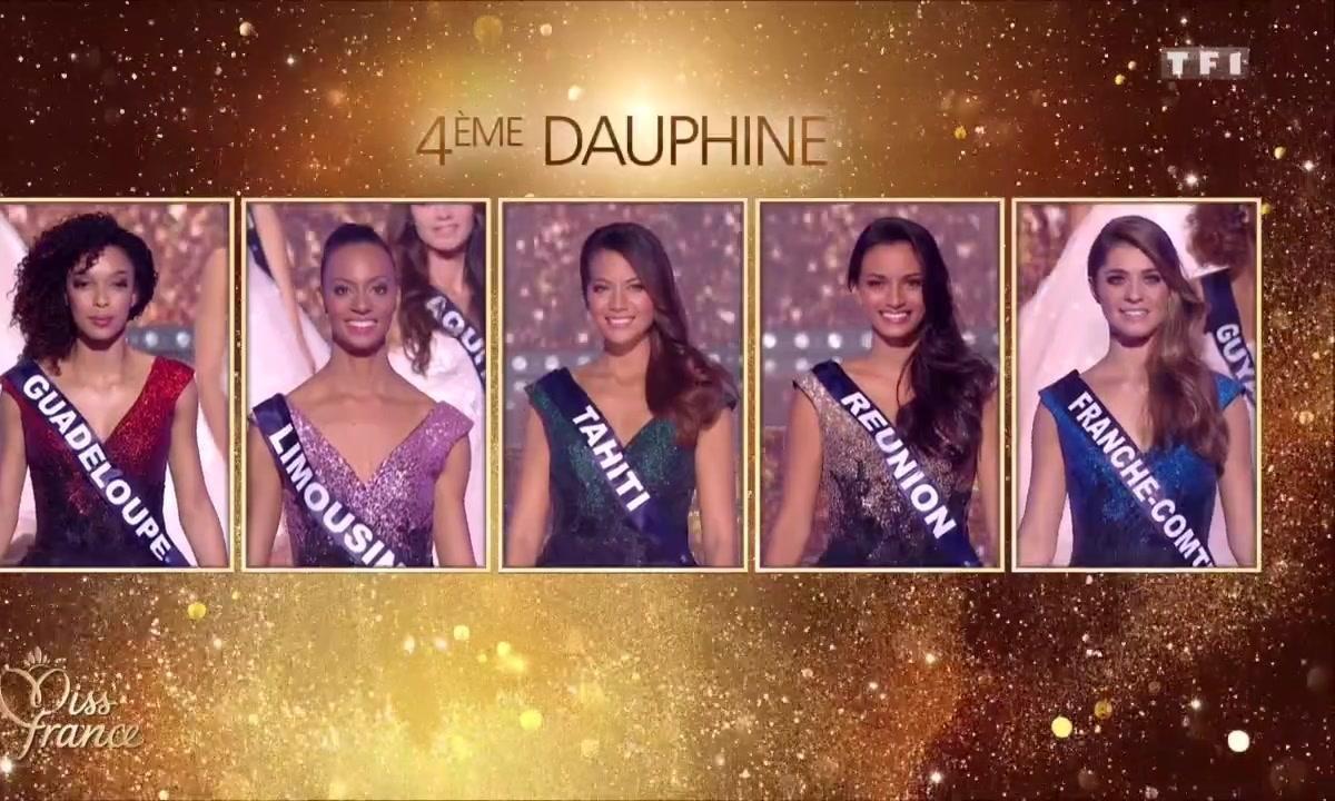 Miss France 2019 - Qui sont les 4 DAUPHINES ?