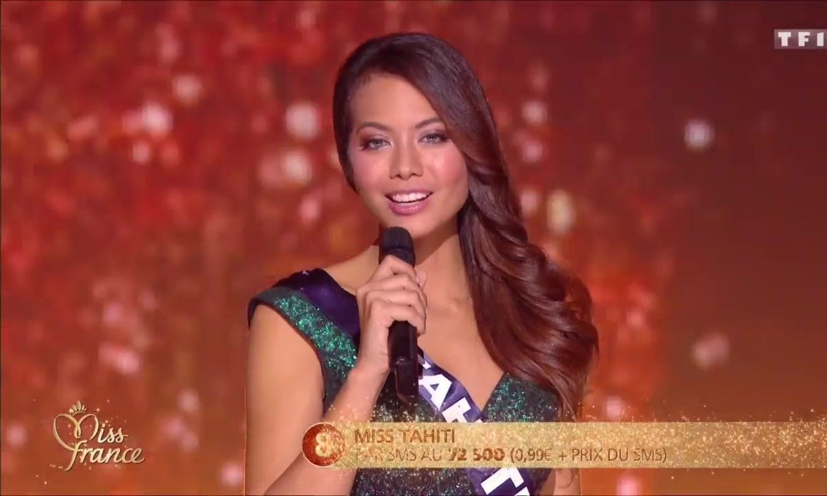 Miss France 2019 – 5 choses à savoir sur Miss Tahiti 2018
